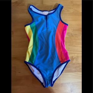 Hanna Andersson girls swimsuit 140 10